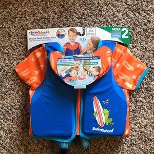 Deluxe swim trainer vest